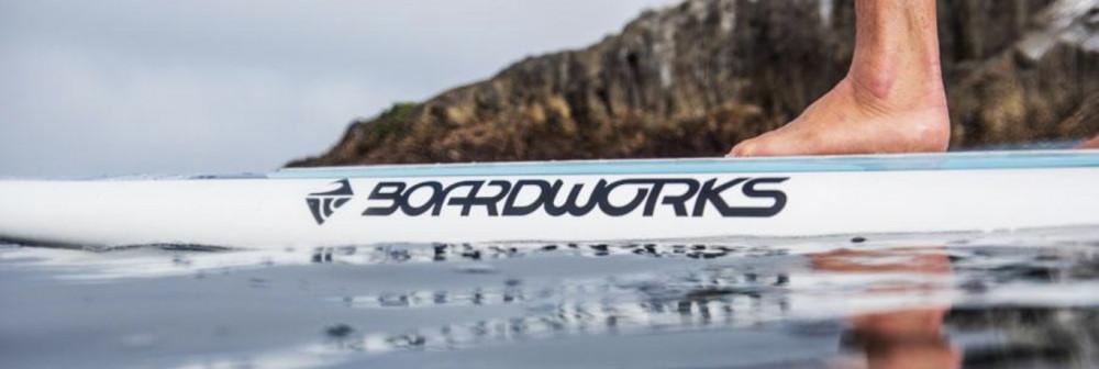 Boardworks Logo on Board