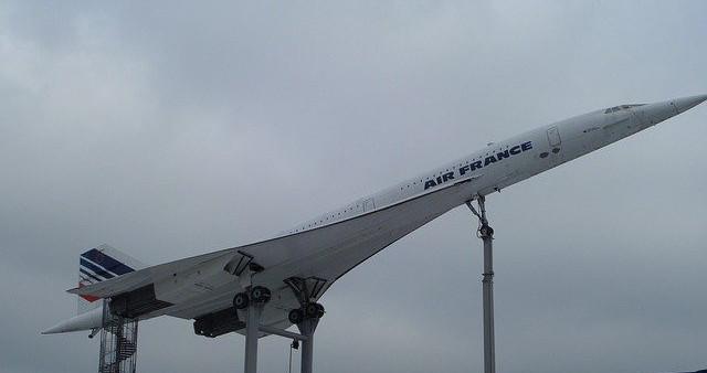 Concorde supersonic passenger jet