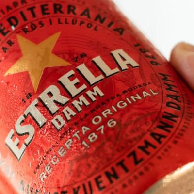 Estrella has gone alcohol free