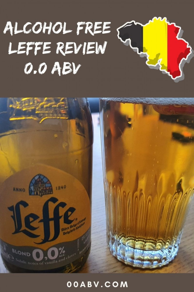 Alcohol Free Leffe Beer