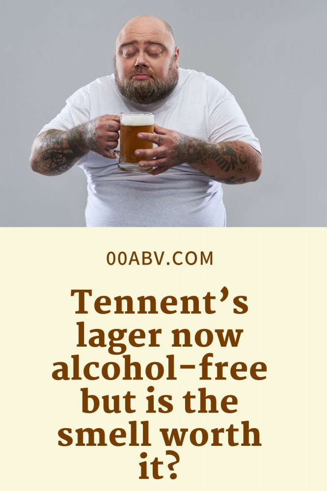 Tennent's lager now alcohol-free but is the smell worth it?