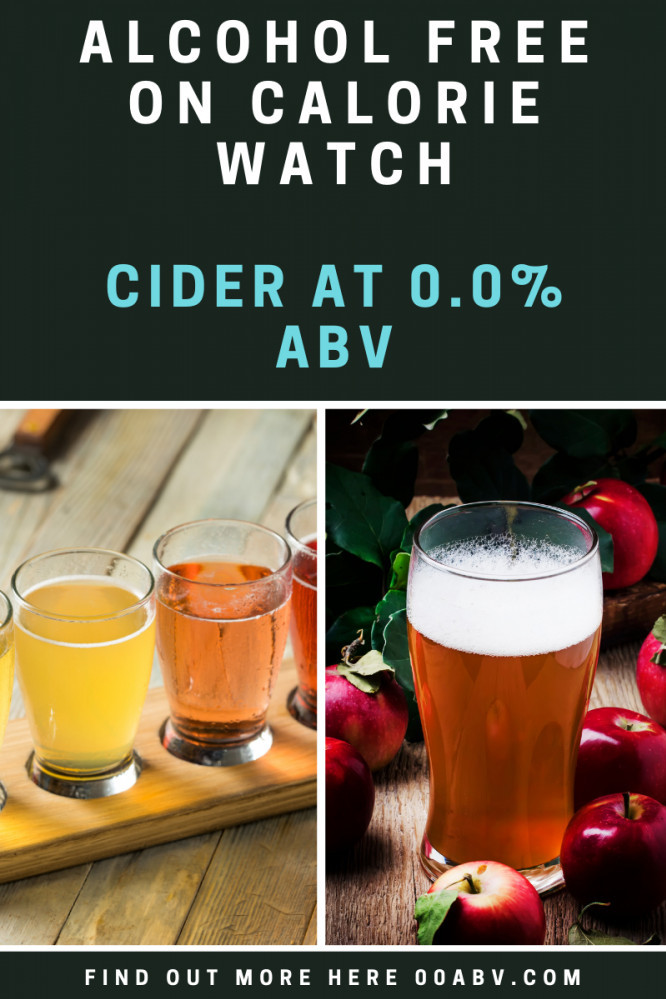 alcohol free cider