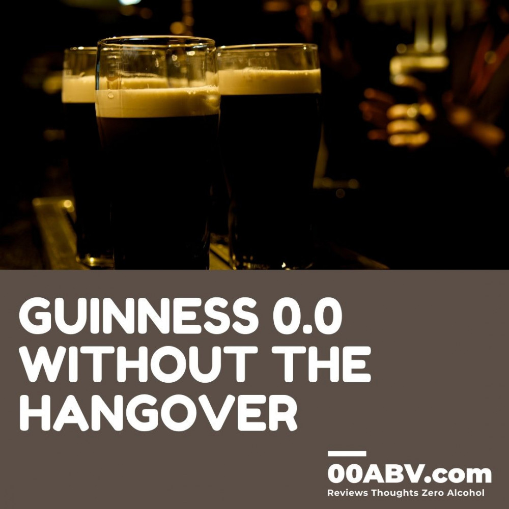 Guinness 0.0 without the hangover