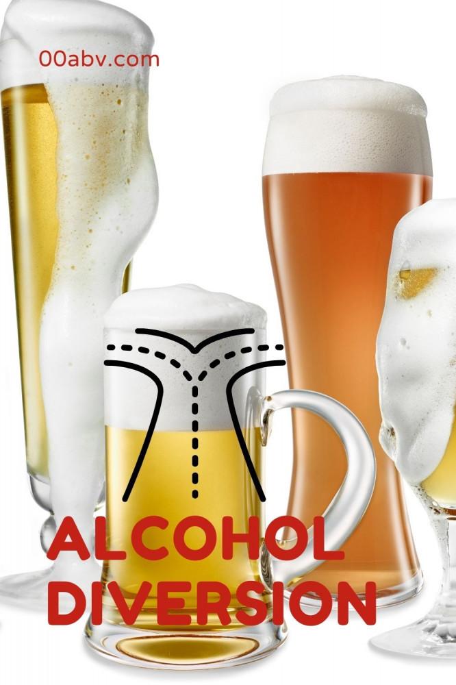 Diversion Techniques for alcohol