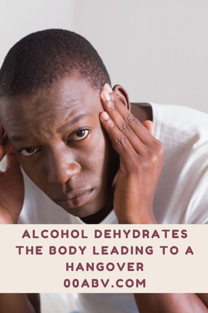 Alcohol Dehydrates the Body