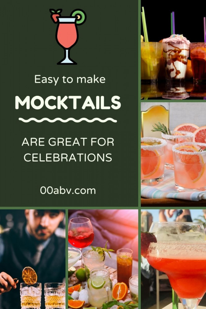 Mocktails are Great For Parties