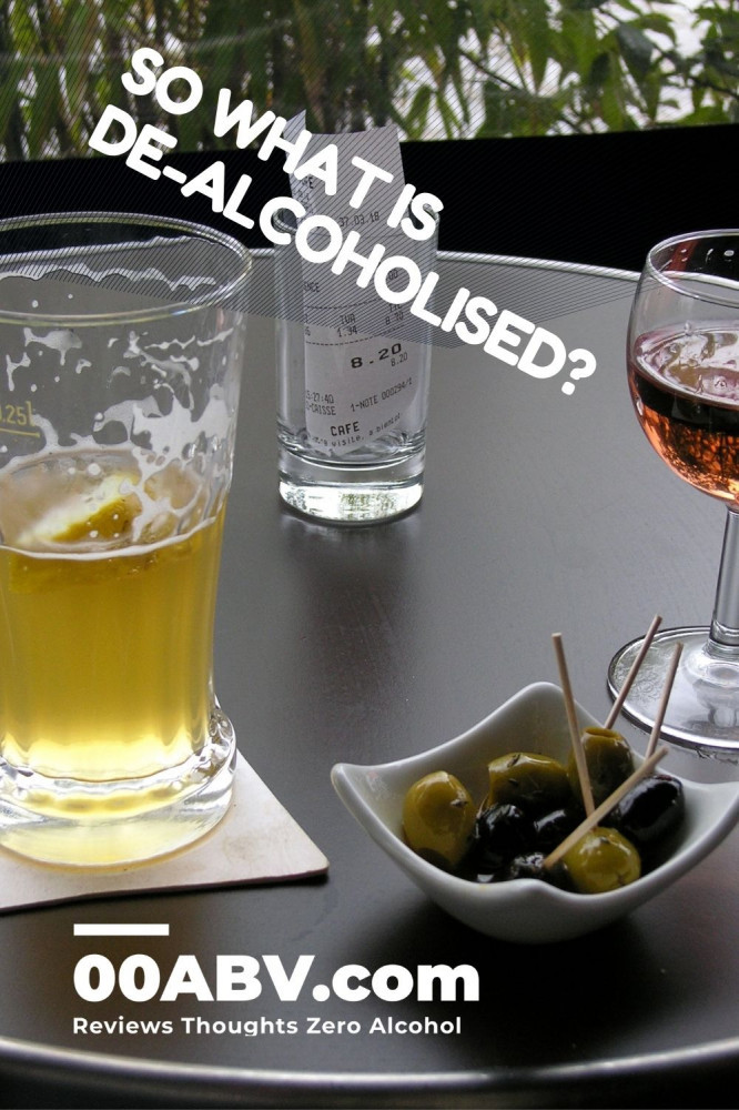 What is De-Alcoholised?