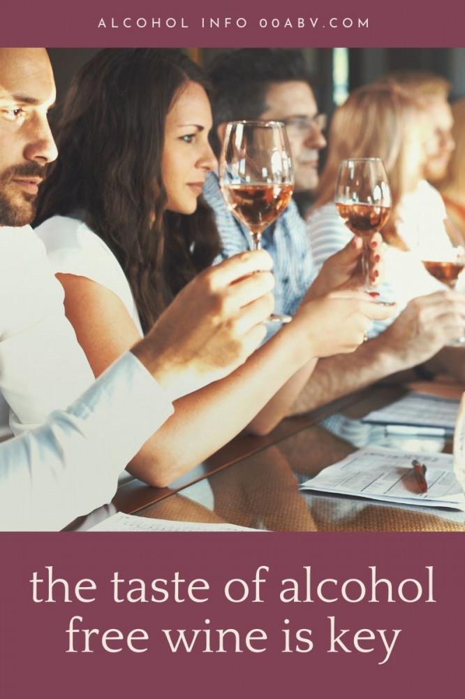 The Taste of Alcohol Free Wine
