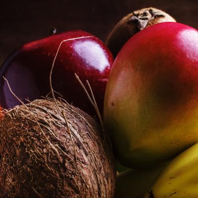 Whole Fruit has Fibre
