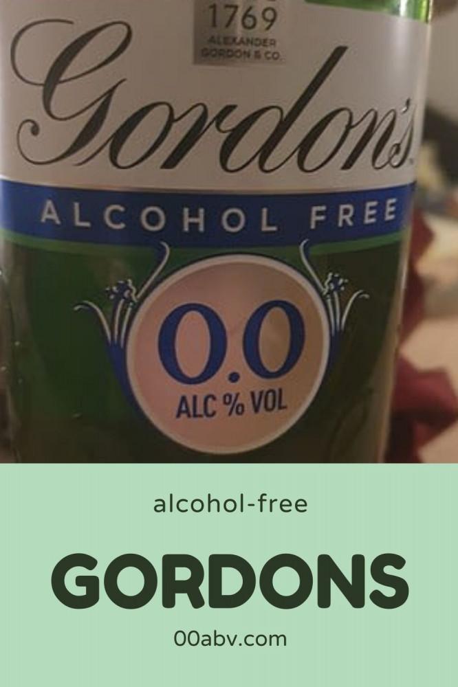 Gordons Best Non-Alcoholic Gin