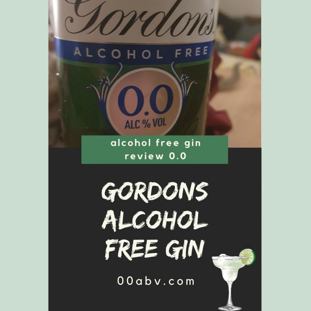 Gordon's Alcohol Free Gin