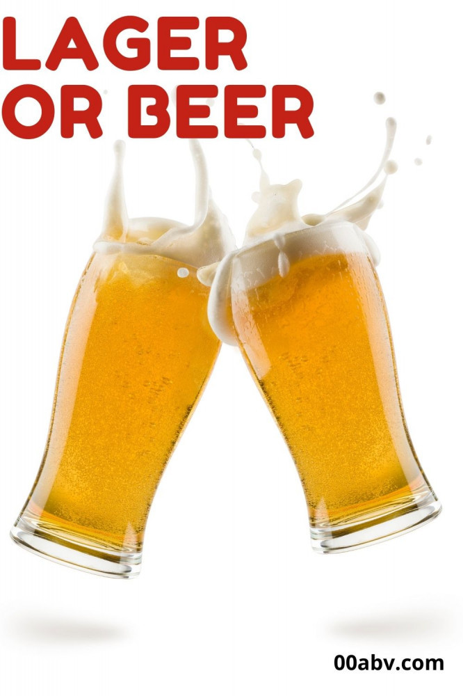 Alcohol-Free Lager Or Alcohol-Free Beer