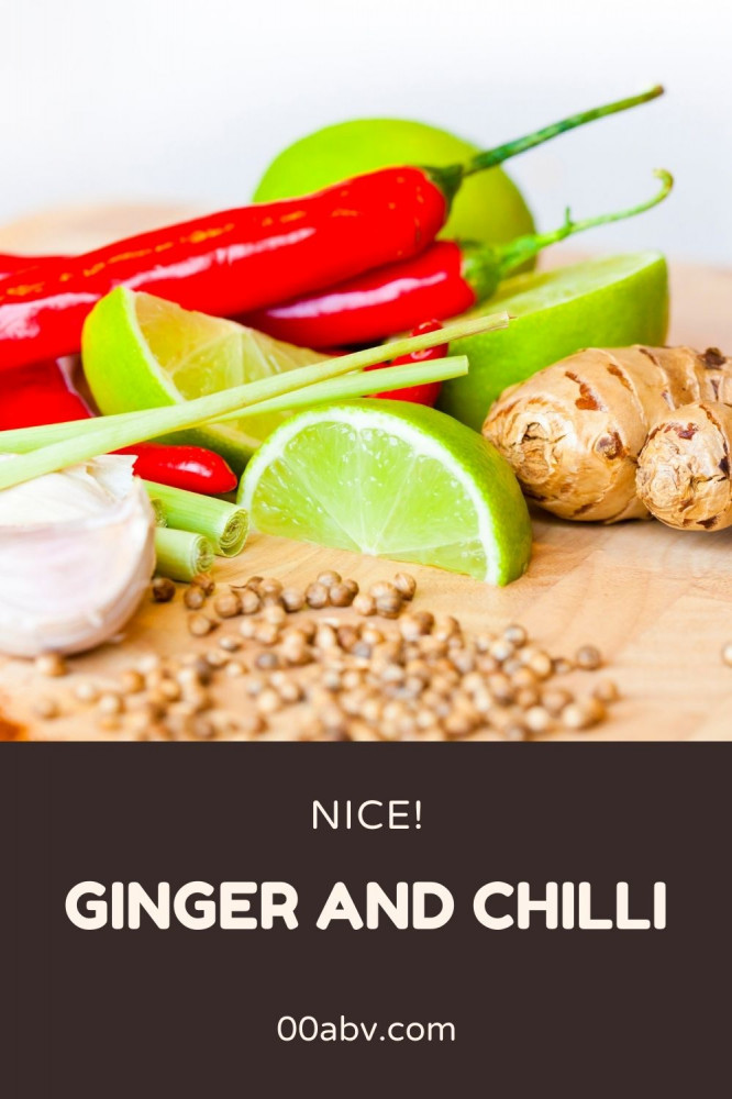 Ginger and Chilli Beer