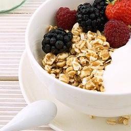 Yoghurt Alcohol and Fruit