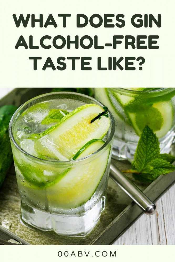 What does Gin Alcohol Free Taste Like?