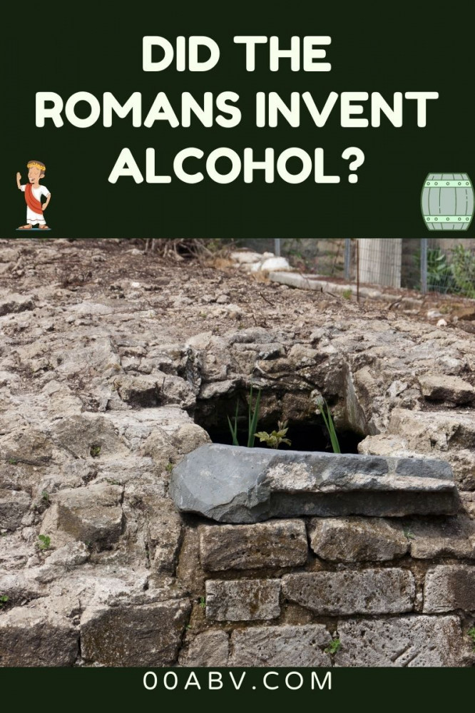 Is Alcohol a new invention?