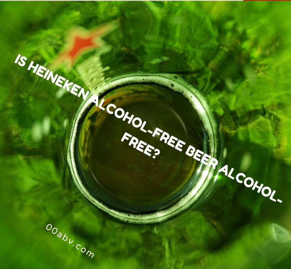 Is Heineken Alcohol-Free beer alcohol-free?