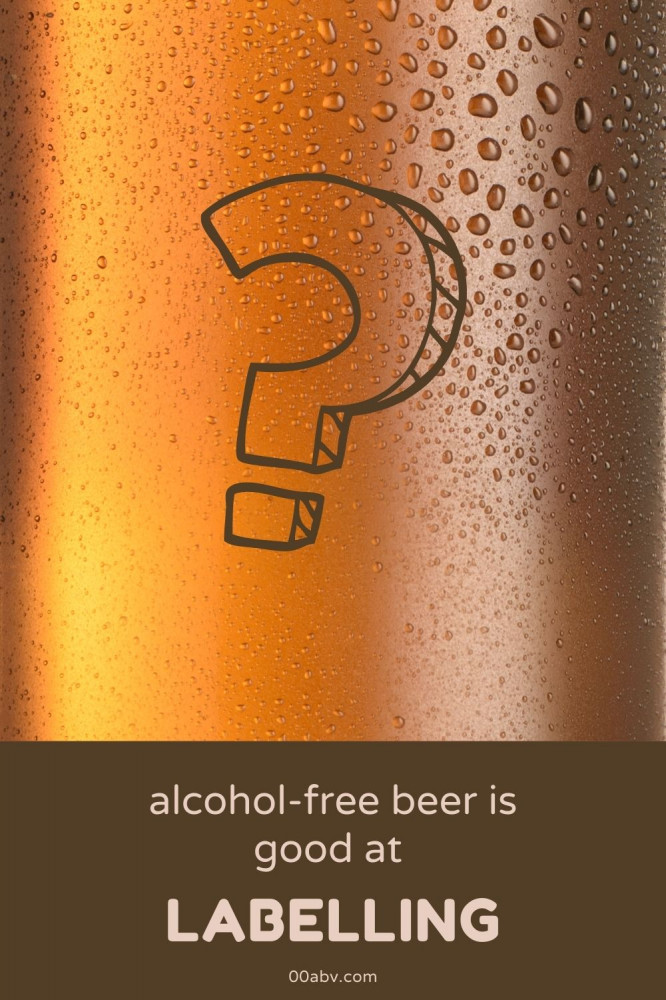Labelling on Alcohol-Free Beer is Good