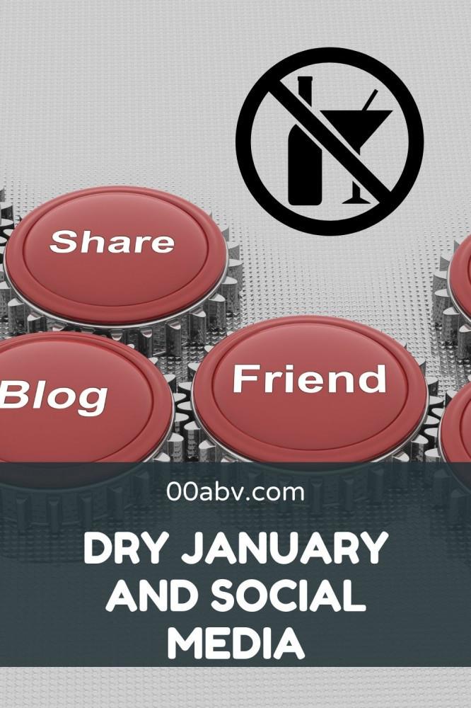 social media and dry january
