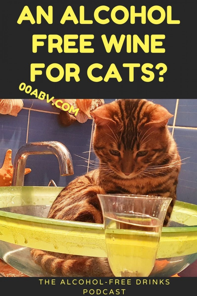 Alcohol-Free Wine for Cats