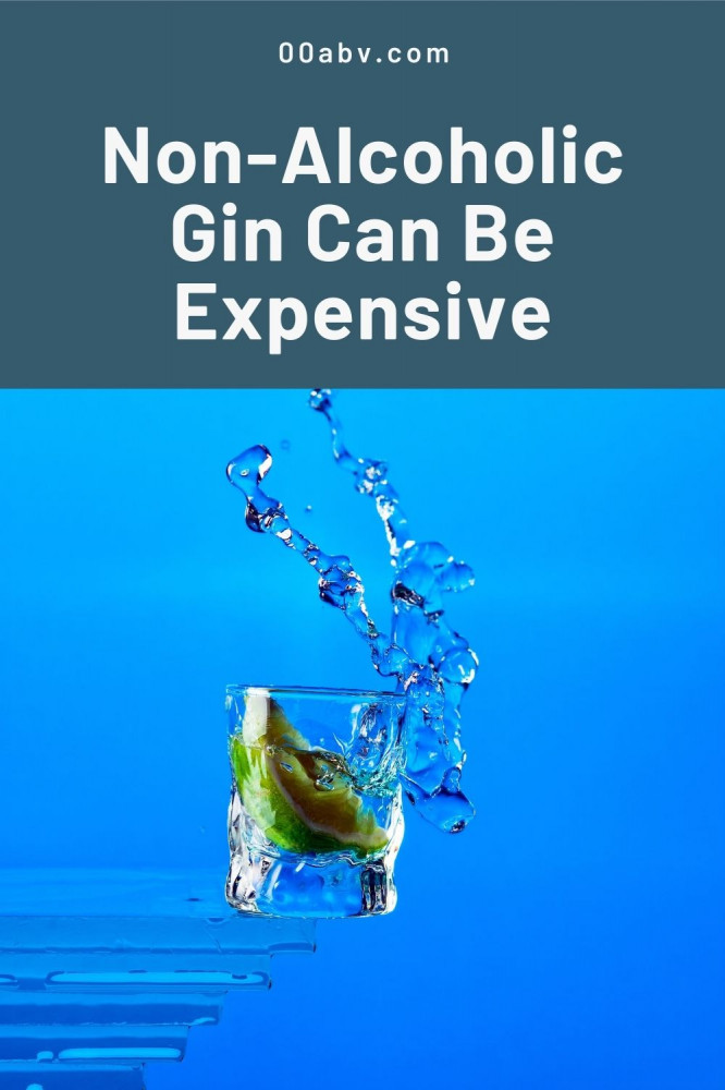 Non-Alcoholic Gin Can Be Expensive
