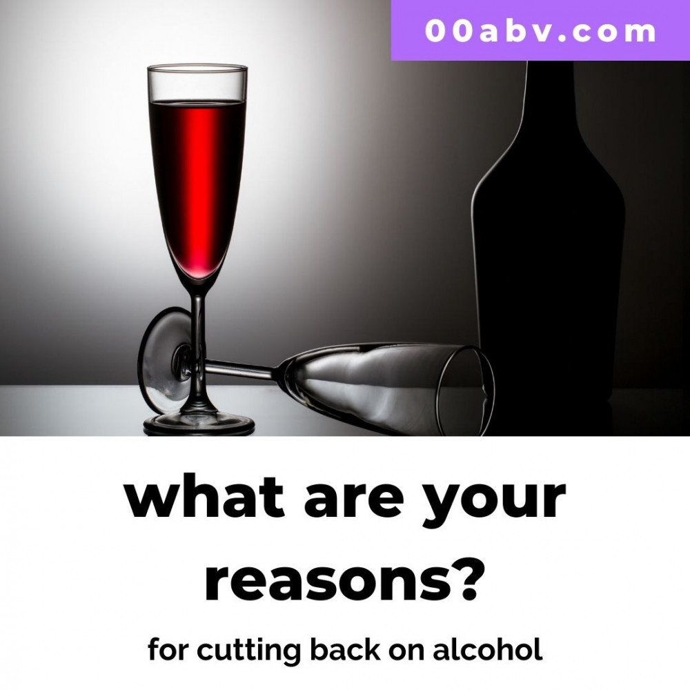 Why cut back on alcohol?