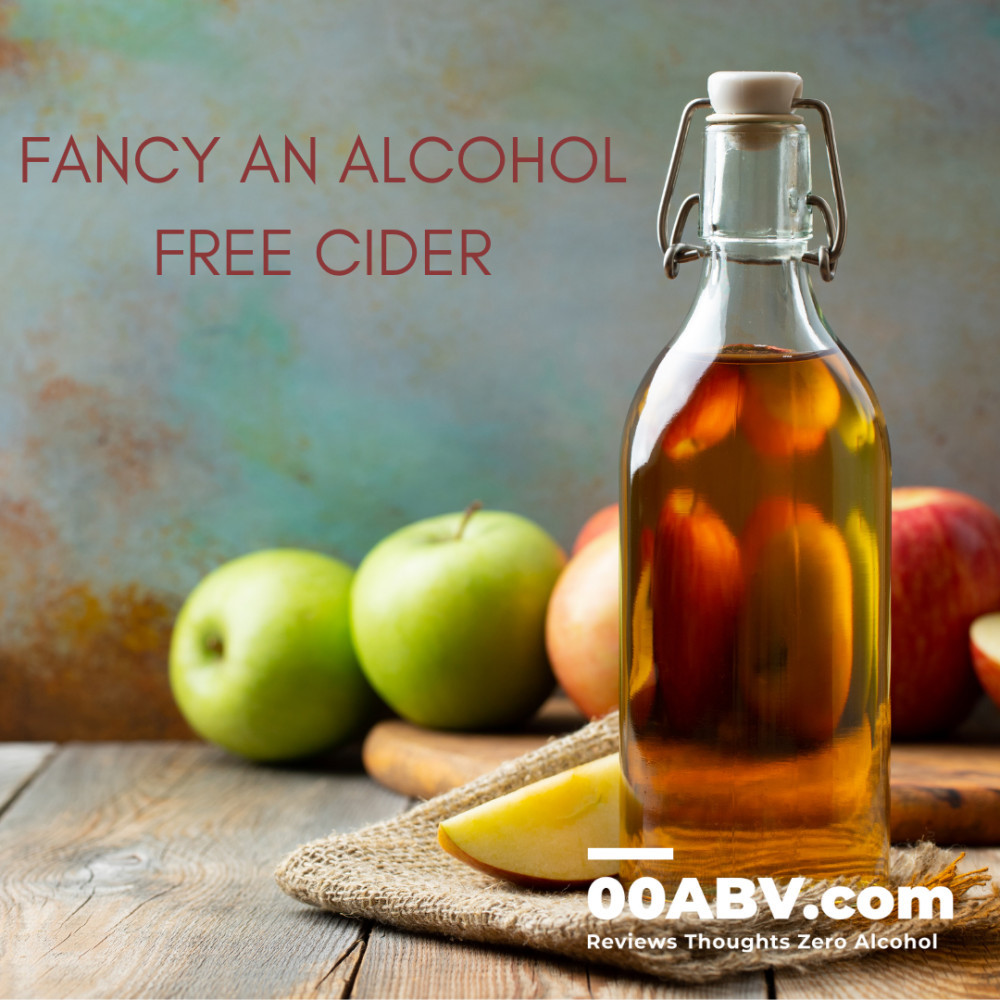Fancy An Alcohol Free Cider