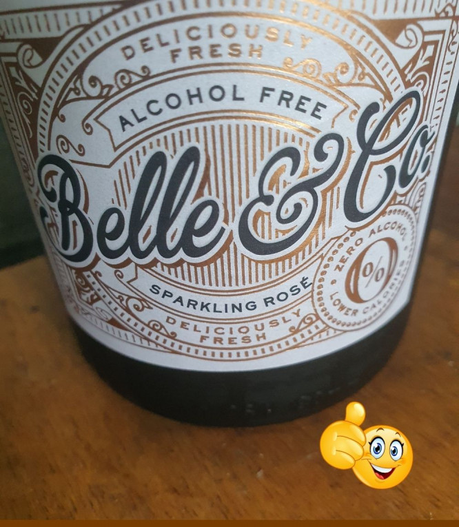 Belle and Co Non-Alcoholic Vegan Wine