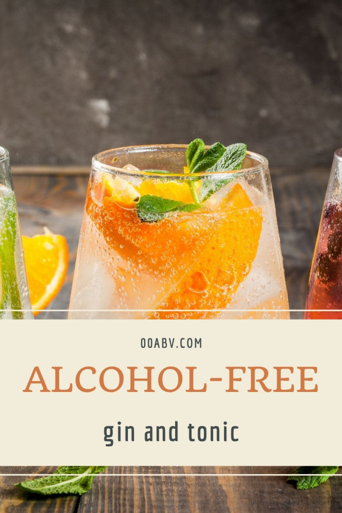 Alcohol-Free Gin and Tonic is a great options at parties