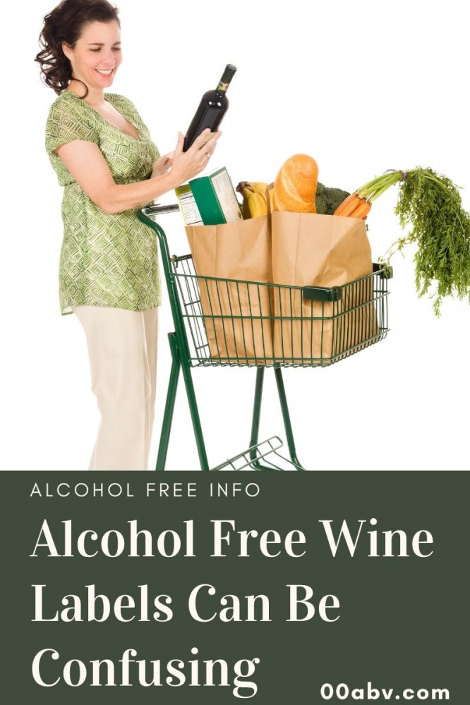 Alcohol Free Wine Labels Are Confusing
