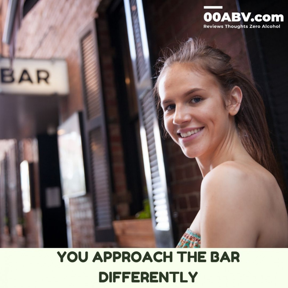 As an alcohol-free drinker you approach the bar differently