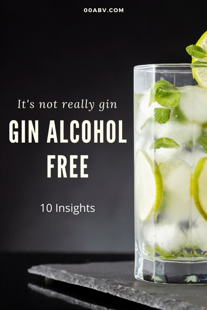 Gin Alcohol Free Gin Is Not Really Gin