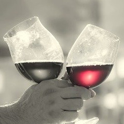 wine glasses have grown in size
