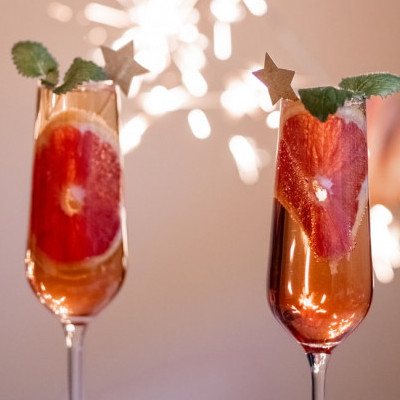 Alcohol Free wine and grape juice