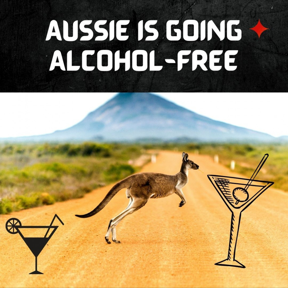 Aussie is going alcohol-free