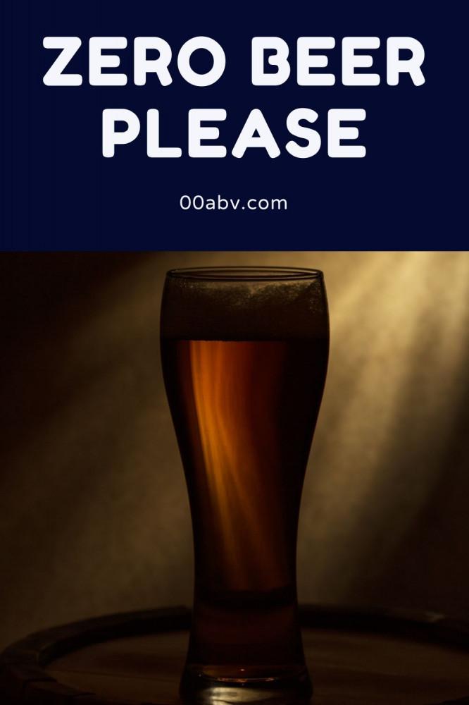 Zero Beer Please