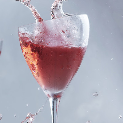 Sparkling Alcohol Free Rose Wine