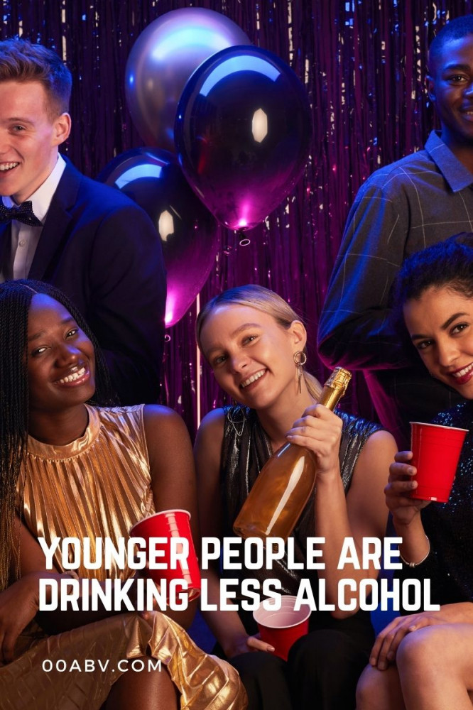 Younger People are Drinking Less Alcohol