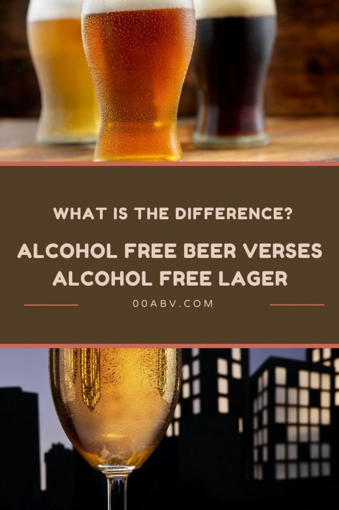 what is non alcoholic lager verses beer