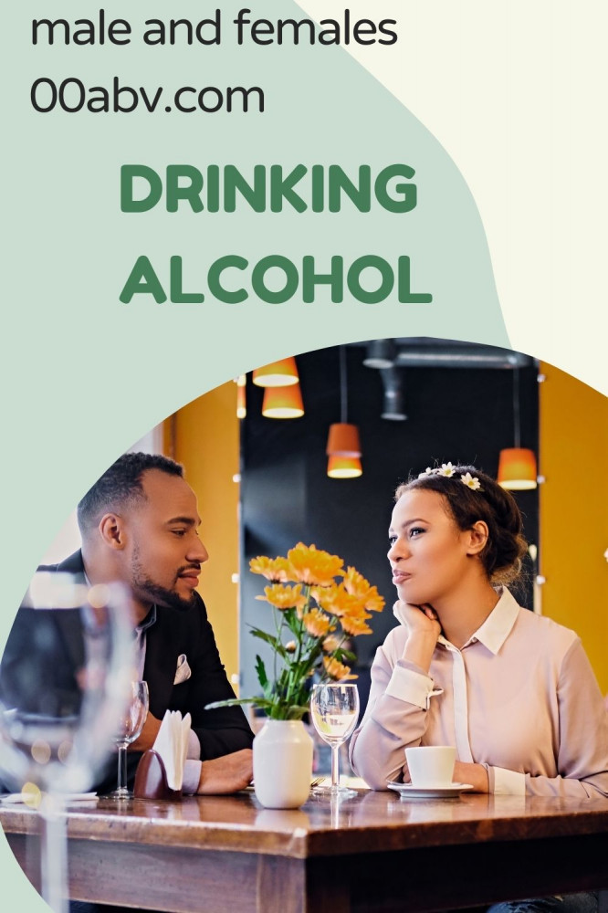 Males and Females Alcohol