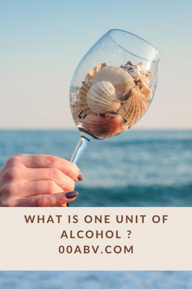 What Is One Unit Of Alcohol ?