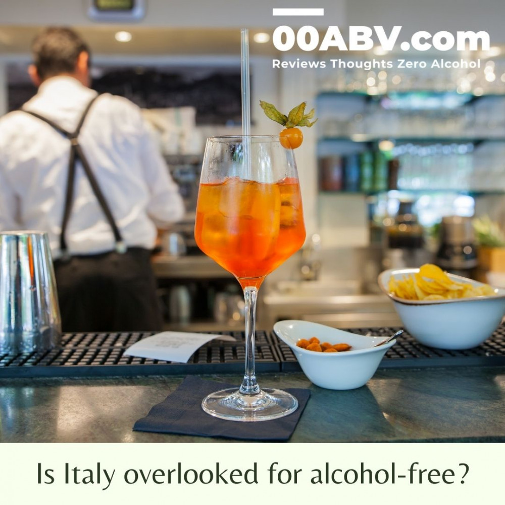 Is Italy Overlooked for Alcohol-Free Drinks