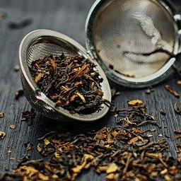 kombucha and tea