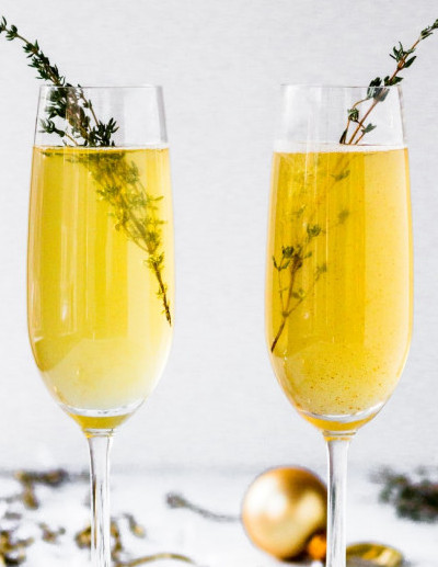 Could you swap champagne for alcohol free