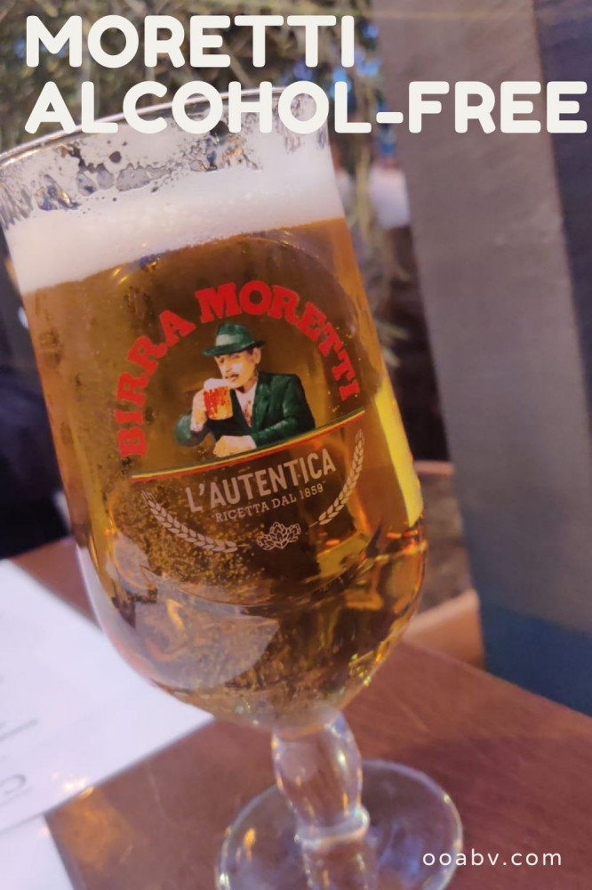 Moretti Alcohol-Free Beer