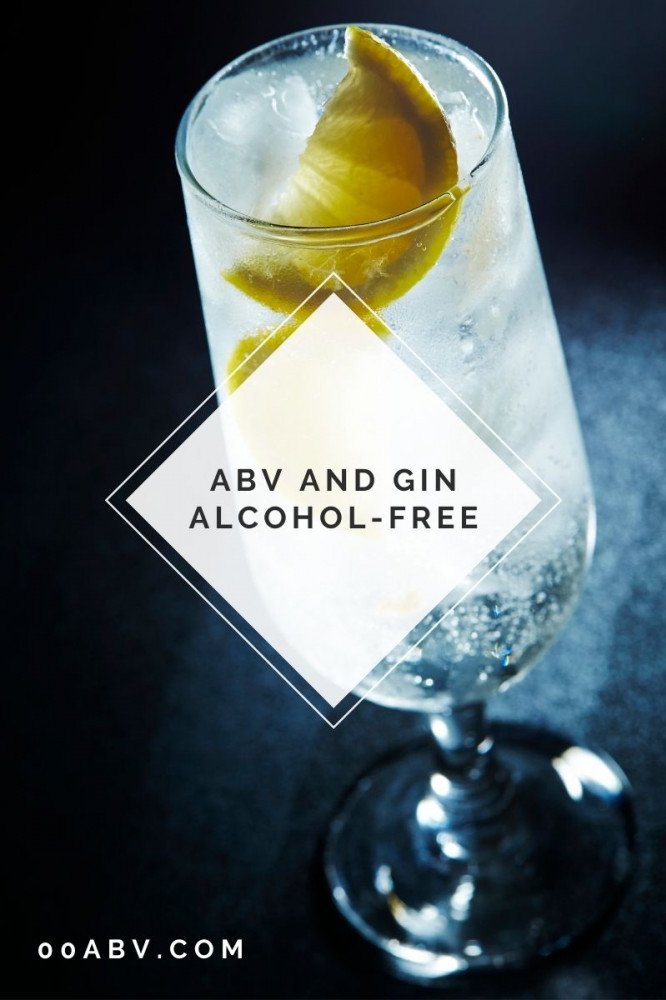 what is the abv of gin alcohol free ?