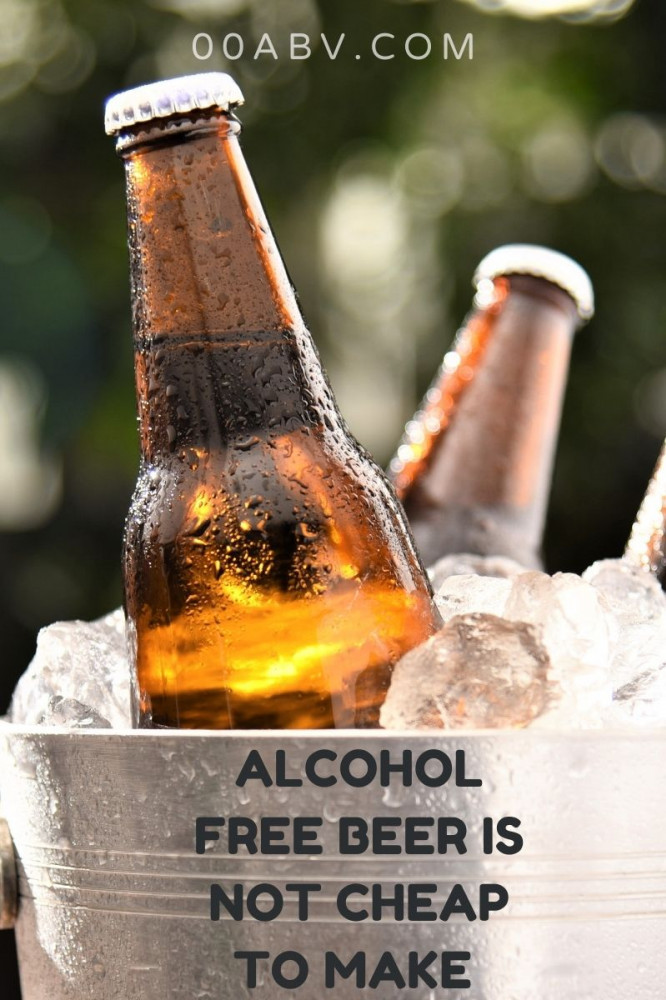 Alcohol Free Is Not Cheap To Make