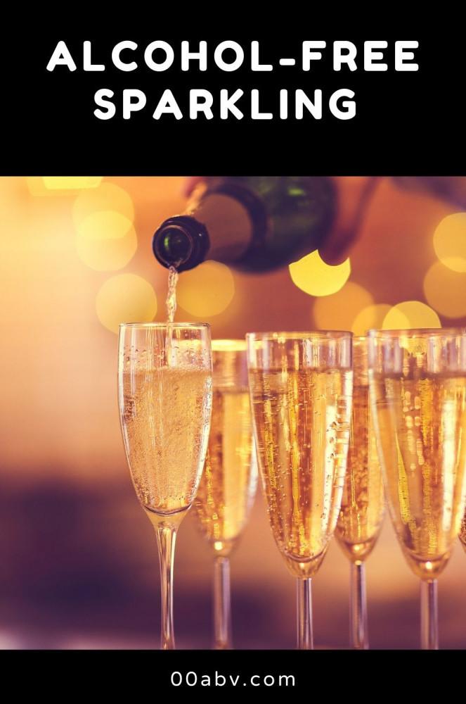 Alcohol-Free Sparkling Wine
