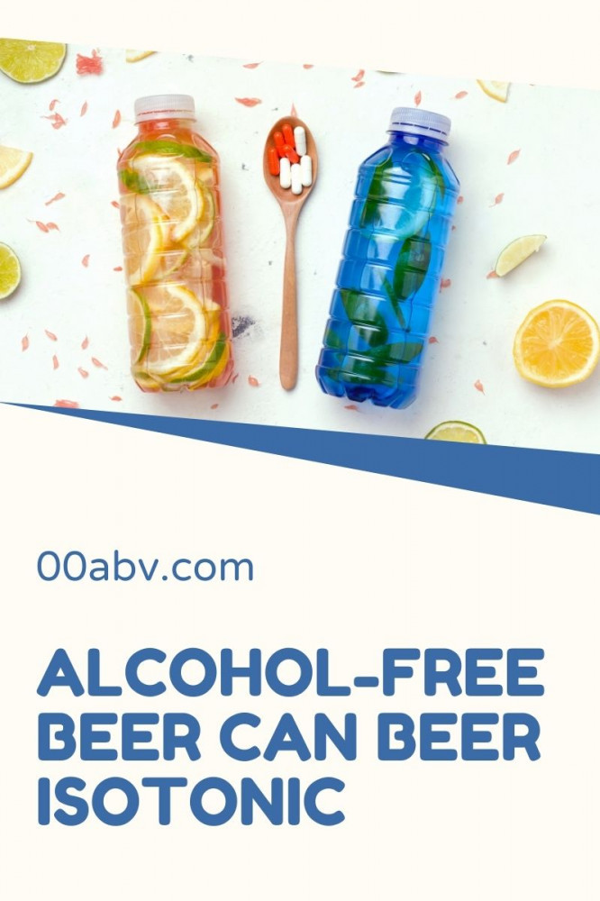 Is Alcohol-Free Beer Isotonic ?