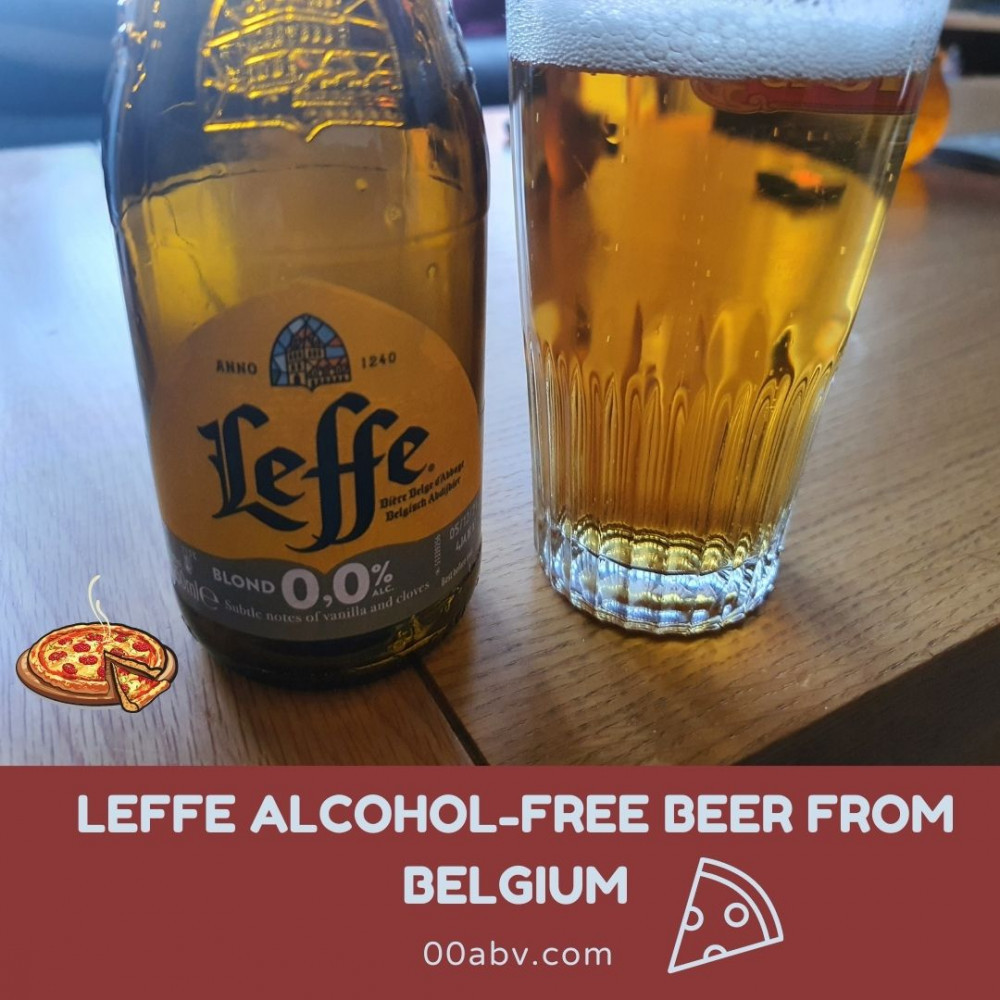 Is Leffe 0.0 the perfect choice for Pizza?